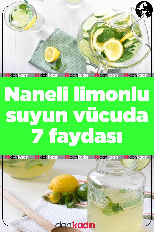 Naneli limonlu suyun vücuda 7 faydası