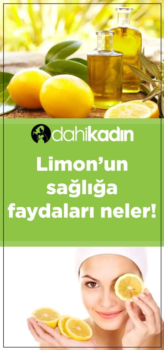 Limonun sağlığa faydaları nelerdir!