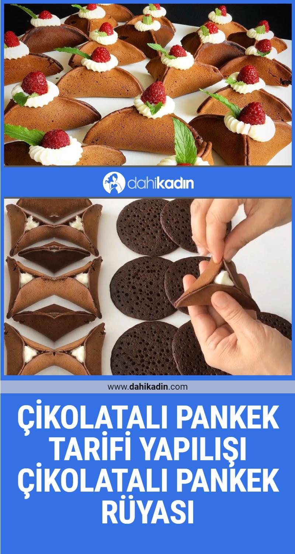 Çikolatalı pankek tarifi yapılışı Eşsiz lezzet çikolatalı pankek rüyası