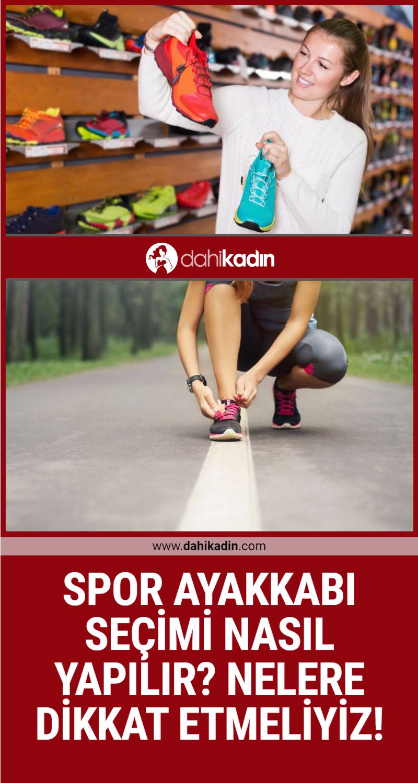Spor ayakkabı seçimi nasıl yapılır? Nelere dikkat etmeliyiz!