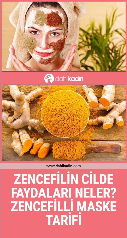 Zencefilin cilde faydaları neler? 2 Doğal zencefil maskesi tarifi